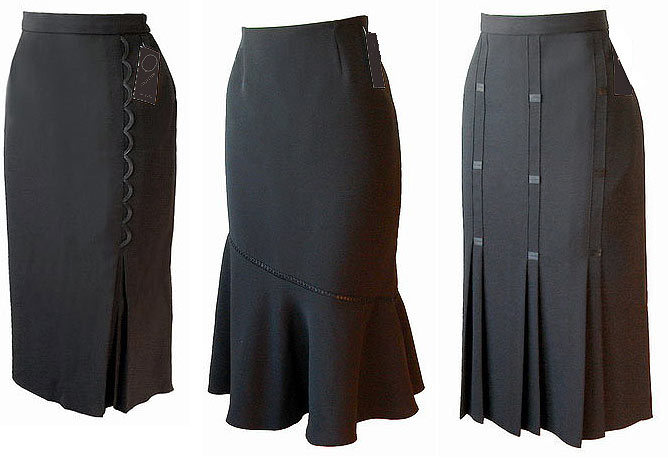 Пошить юбку для полных
