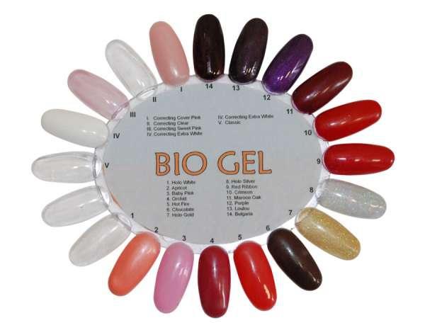 Bio gel биогель для ногтей система